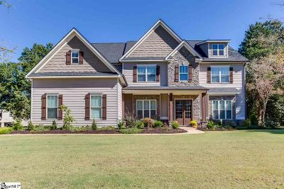Travelers Rest Single Family Home For Sale: 8 Wood Leaf