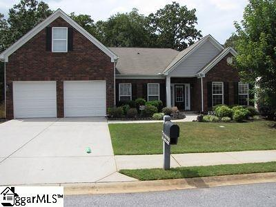 Simpsonville Single Family Home For Sale: 185 Heritage Point