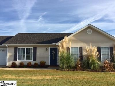 Greer Single Family Home Contingency Contract: 209 Hickory Rock