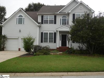 Simpsonville Single Family Home For Sale: 16 Lake Valley