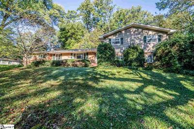 Greenville Single Family Home Contingency Contract: 36 Ponderosa