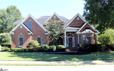 Simpsonville Single Family Home For Sale: 201 Huddersfield