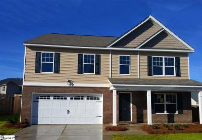 Greenville County Single Family Home For Sale: 10 Fowler Oaks #Lot 50