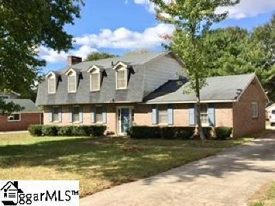 Mauldin Single Family Home Contingency Contract: 202 Brooks