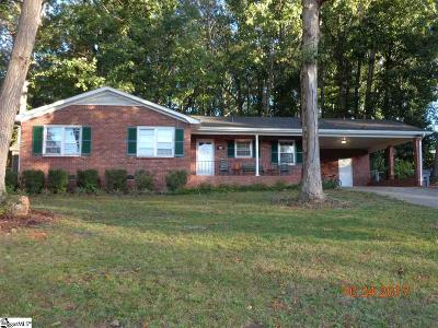 Greenville County Single Family Home For Sale: 122 Delta