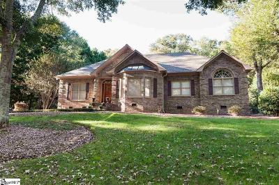 Spartanburg Single Family Home For Sale: 126 Hawk Creek