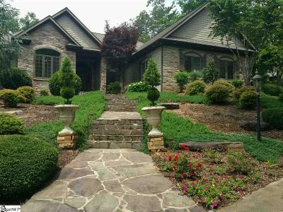 Travelers Rest Single Family Home For Sale: 10 Valley Lake