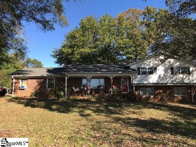 Inman Single Family Home For Sale: 441 Old Burnett