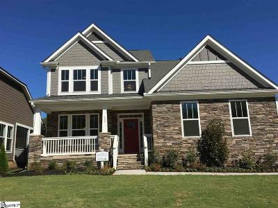 Greer Single Family Home For Sale: 100 Quail Creek #Homesite