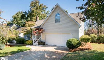Greenville County Single Family Home For Sale: 609 Half Mile