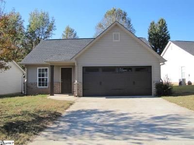 Inman Single Family Home For Sale: 342 Bishop Hicks