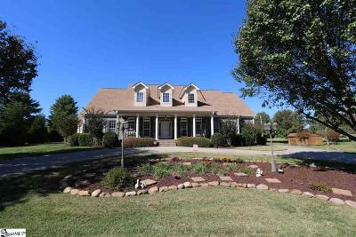 Fountain Inn Single Family Home For Sale: 124 Pheasant