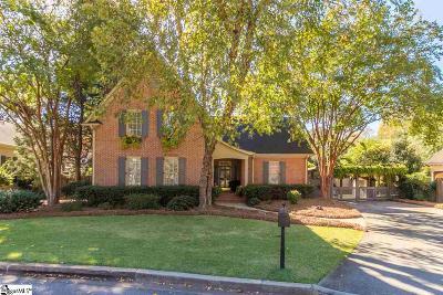 Greenville Single Family Home For Sale: 133 Kellett Park