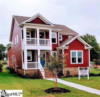 Spartanburg Single Family Home For Sale: 759 Rose Penny #Lot 138