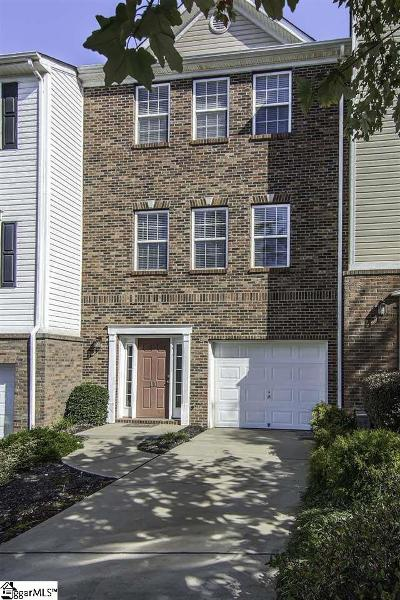 Mauldin Condo/Townhouse For Sale: 110 Forsythia