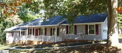 Boiling Springs Single Family Home For Sale: 244 N Hill