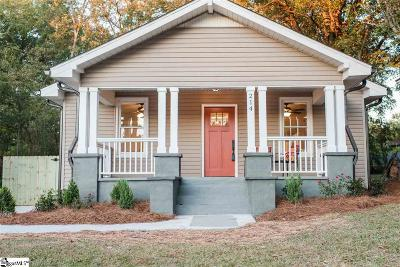 Downtown Single Family Home Contingency Contract: 214 Asbury