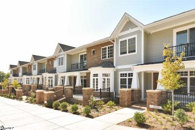 Greenville County Condo/Townhouse For Sale: 100 S Hudson #B13