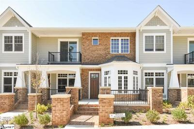 Greenville County Condo/Townhouse For Sale: 100 S Hudson #B15