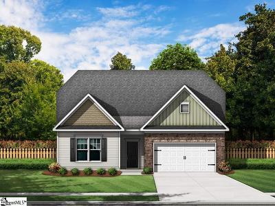 Simpsonville Single Family Home For Sale: 2 Fowler Oaks #Lot 46
