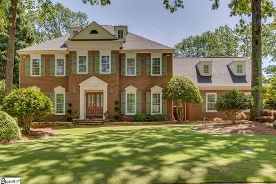 Greenville County Single Family Home Contingency Contract: 109 Thornblade