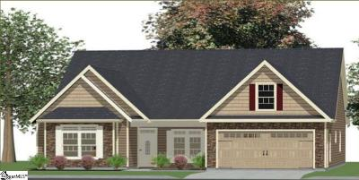 Inman Single Family Home For Sale: 575 Weatherly #Lot 1