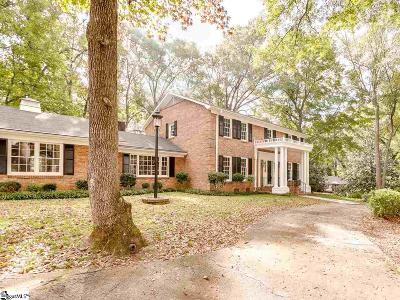 Spartanburg Single Family Home For Sale: 100 Mabry