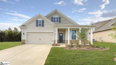 Boiling Springs Single Family Home For Sale: 914 Deepwood #lot 9