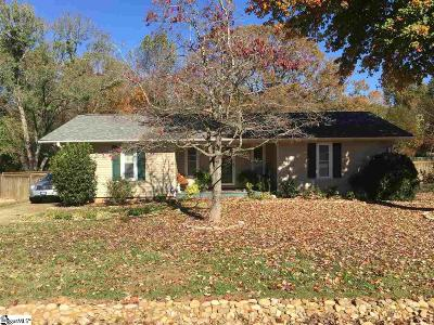 Travelers Rest Single Family Home Contingency Contract: 261 Clearview