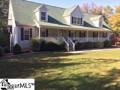 Inman Single Family Home For Sale: 117 Lake