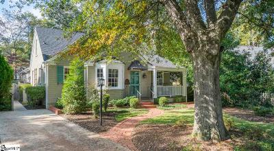 Greenville County Single Family Home For Sale: 12 Ottaway