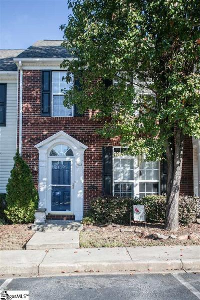 Mauldin Condo/Townhouse Contingency Contract: 418 Canewood