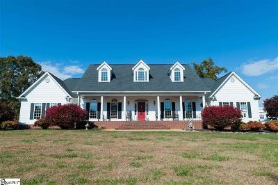 Taylors Single Family Home For Sale: 280 Gum Springs