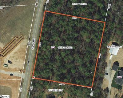 Simpsonville Residential Lots & Land Contingency Contract: 539 Hipps