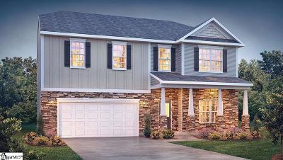 Simpsonville Single Family Home For Sale: 121 Lake Grove #140