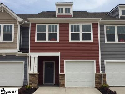 Simpsonville Condo/Townhouse For Sale: 24 Timber Oak