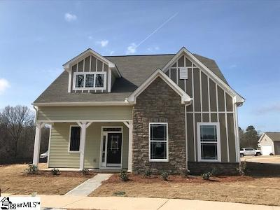 Simpsonville Single Family Home For Sale: 306 Carruth #Lot 109