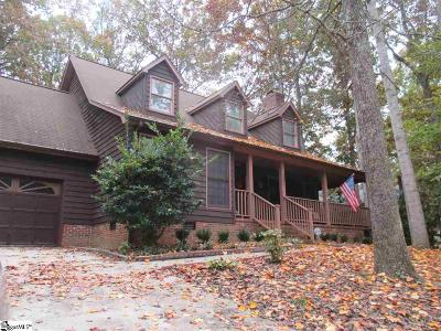 Simpsonville Single Family Home For Sale: 227 Hunters Woods