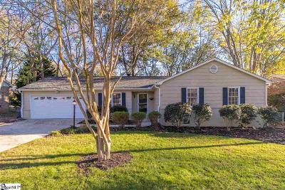 Greenville County Single Family Home Contingency Contract: 304 Windward