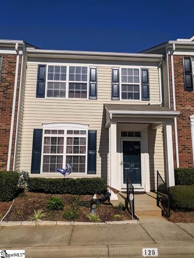Mauldin Condo/Townhouse For Sale: 126 Bumble