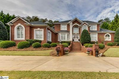 Spartanburg Single Family Home For Sale: 340 Hidden Creek