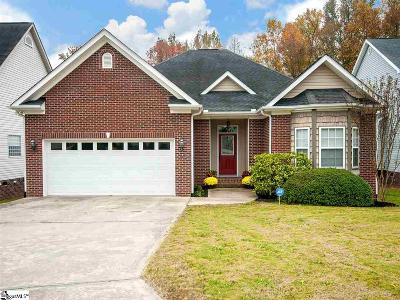 Piedmont Single Family Home Contingency Contract: 107 Meadow Green