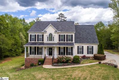Fountain Inn Single Family Home For Sale: 216 Hartwick