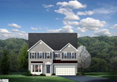 Simpsonville Single Family Home For Sale: 808 Silverwood