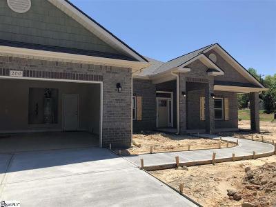Simpsonville SC Single Family Home For Sale: $269,344