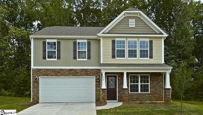 Simpsonville Single Family Home For Sale: 117 Lake Grove #141