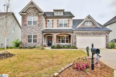 Simpsonville Single Family Home For Sale: 22 Ashby Grove