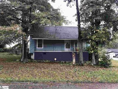 Simpsonville Single Family Home Contingency Contract: 115 Iselin