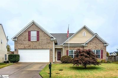 Simpsonville Single Family Home For Sale: 106 Blue Sage