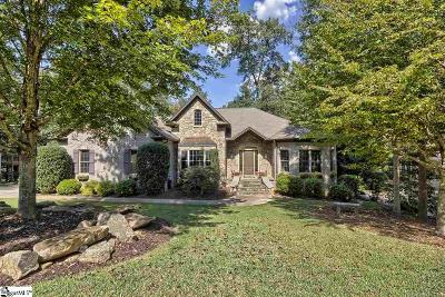 Greenville Single Family Home For Sale: 114 Walnut Creek
